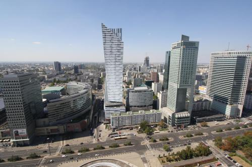 Modern Warsaw. Photo by Richard Varr
