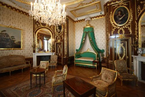 Inside the Royal Castle. Photo by Richard Varr