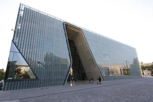 The new Museum of the History of the Polish Jews, opened in 2014.