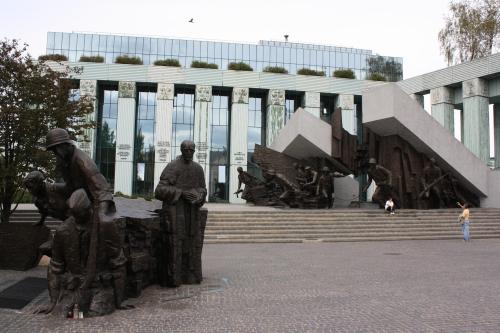 Warsaw Uprising Monument. Photo by Richard Varr