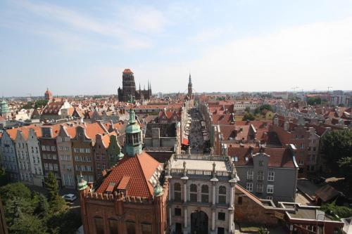 Gdansk from atop the Prison Tower. Photo by Richard Varr