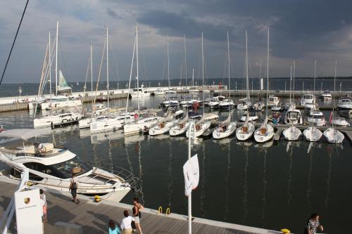 Sopot Marina. Photo by Richard Varr