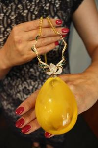 Pendant at S&A Jewellery Design, Gdynia. Photo by Richard Varr