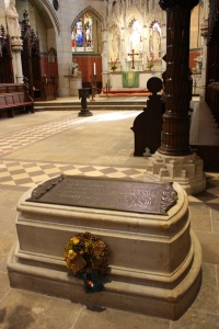 Luther's Tomb, Castle Church, Wittenberg. Photo by Richard Varr