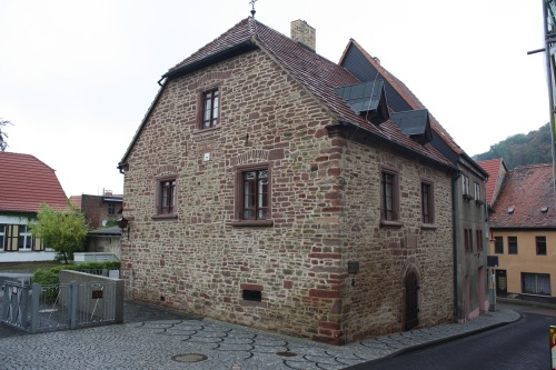 Luther's parents house, Mansfeld. Photo by Richard Varr
