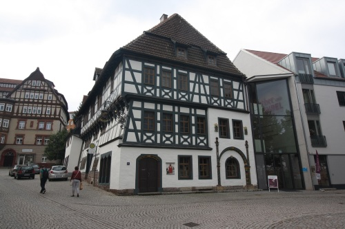 Luther House, Eisenach. Photo by Richard Varr
