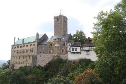 Wartburg Castle. Photo by Richard Varr