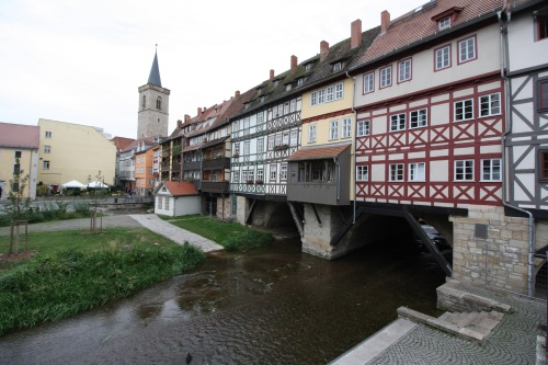 Merchants' Bridge, Erfurt. Photo by Richard Varr