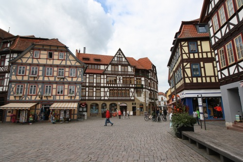 Schmalkalden's scenic half-timbered homes. Photo by Richard Varr